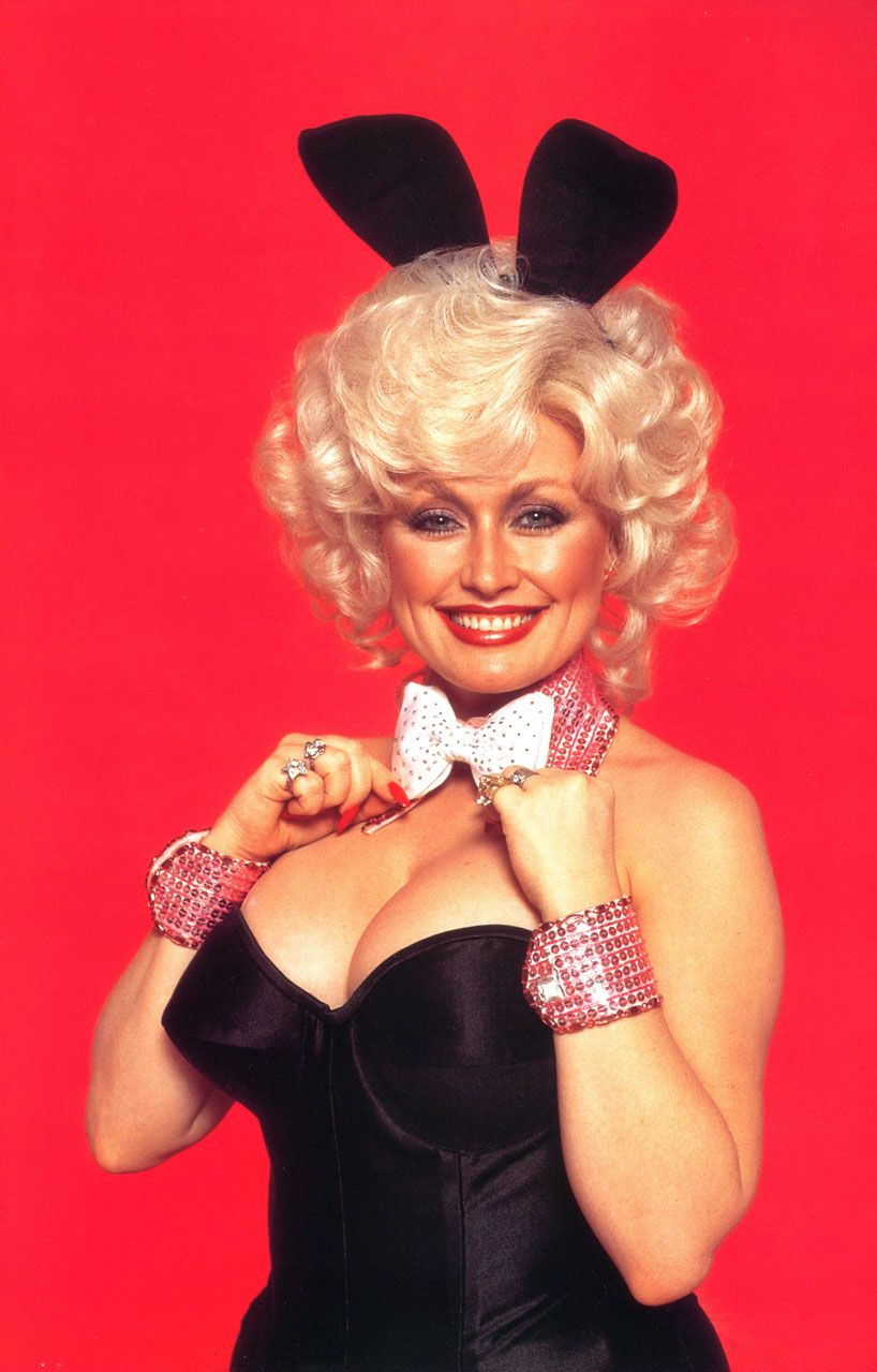 from Quentin young dolly parton in playboy