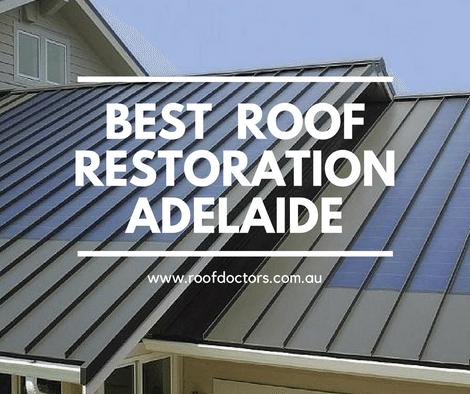 Roof Doctors Provide Best Roof Restoration In Adelaide Australia Roof Restoration Restoration Roof Repair