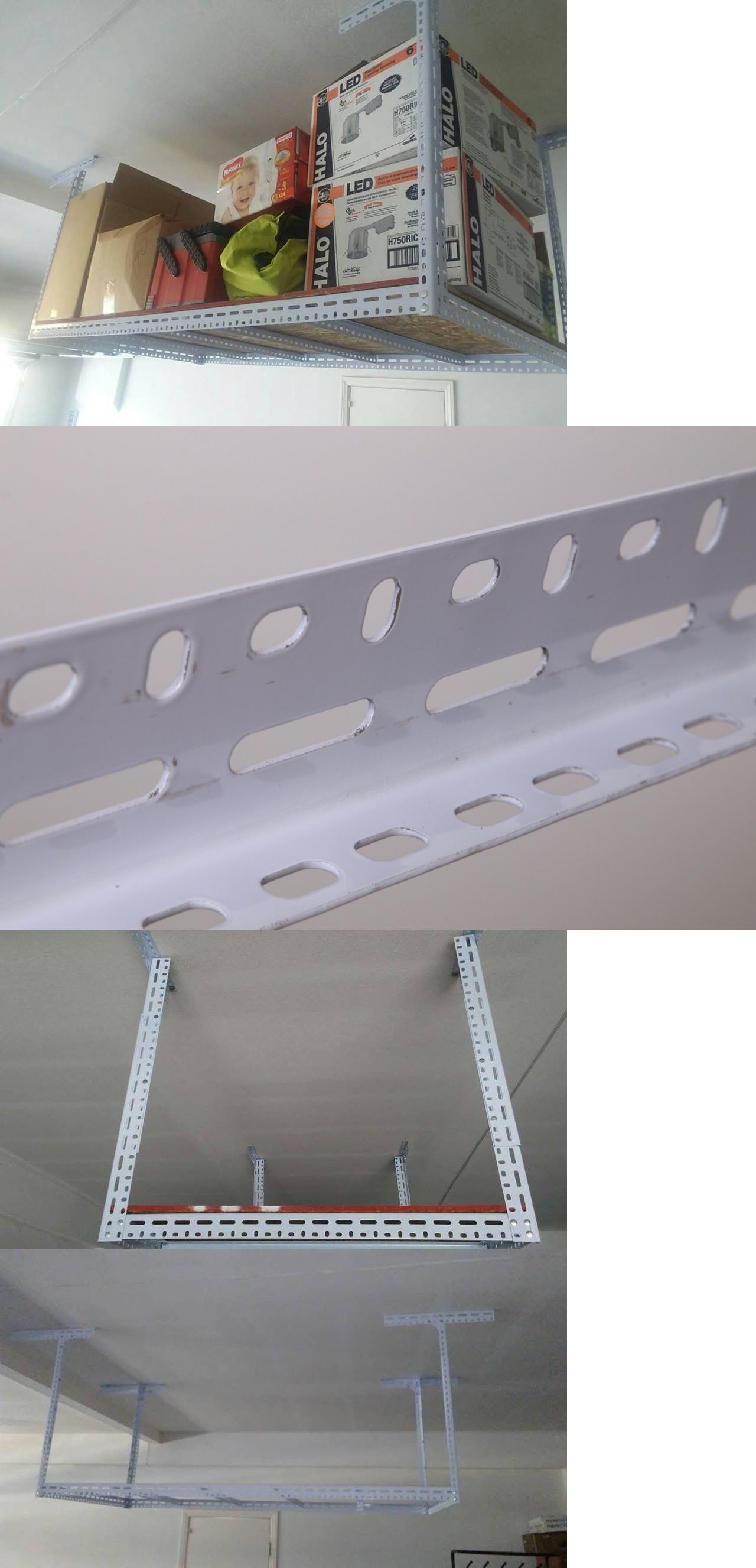 Other Home Organization 20621: 48 W X 96 L Big Overhead Storage Rack Garage Ceiling  Mount
