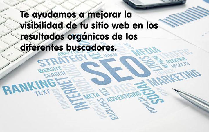 Te ayudamos a mejorar la #visibilidad de tu #sitio #web en los resultados orgánicos de los diferentes #buscadores.