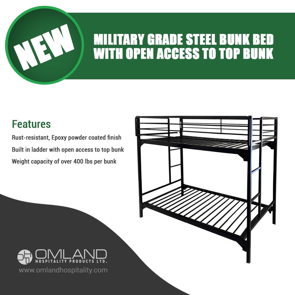 Steel Bunk Bed Bunk beds, Bunks, Military grade