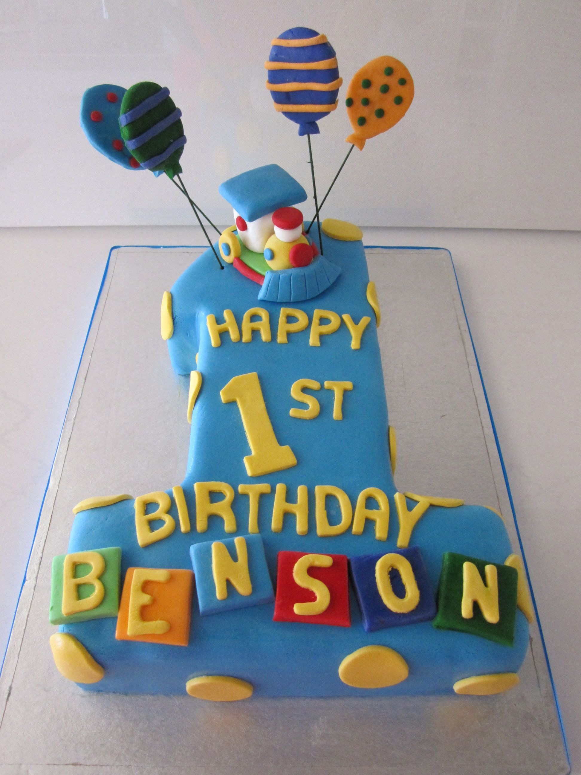Prime Birthday Cake For Baby Boy 1 Year The Cake Boutique Personalised Birthday Cards Cominlily Jamesorg
