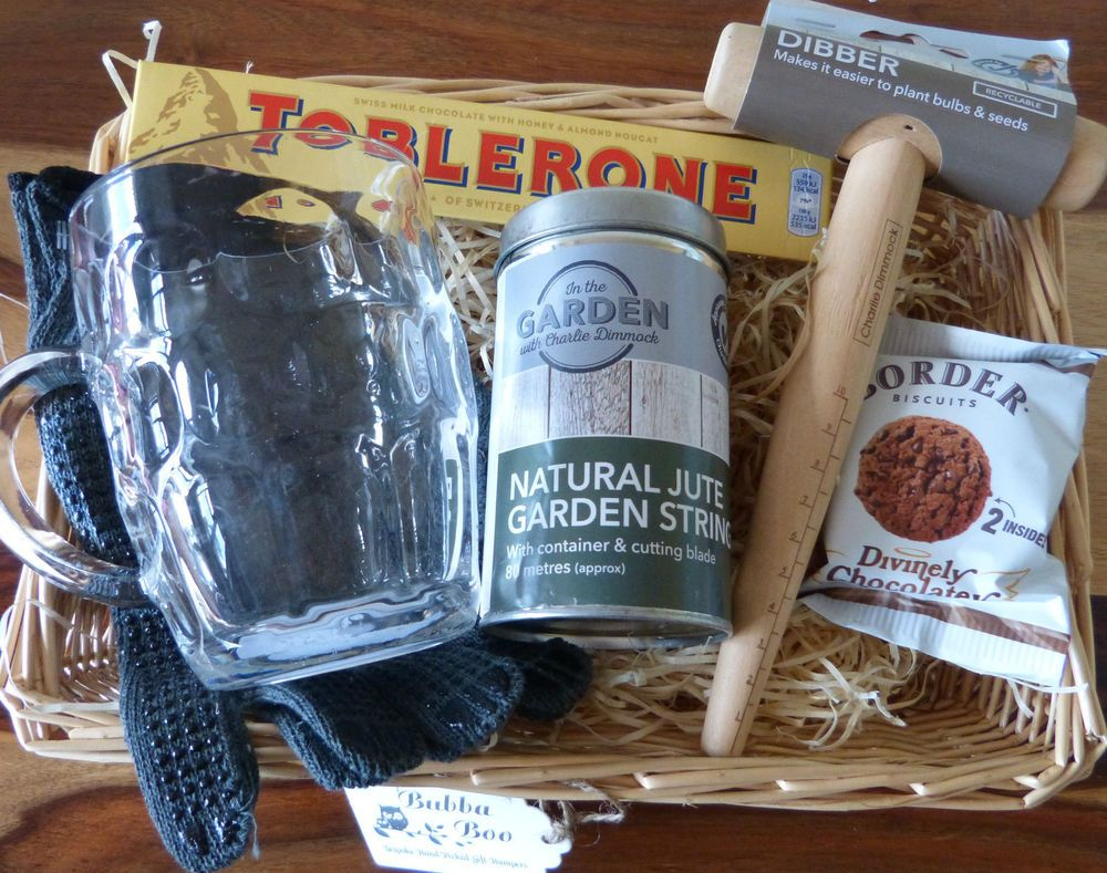 Gardening Beer Gift Hamper Basket Birthday Anniversary Fathers Day Dad Grandad In Home Furniture DIY Celebrations Occasions Other