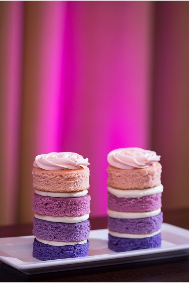 delicious treats, in radiant orchid of course!