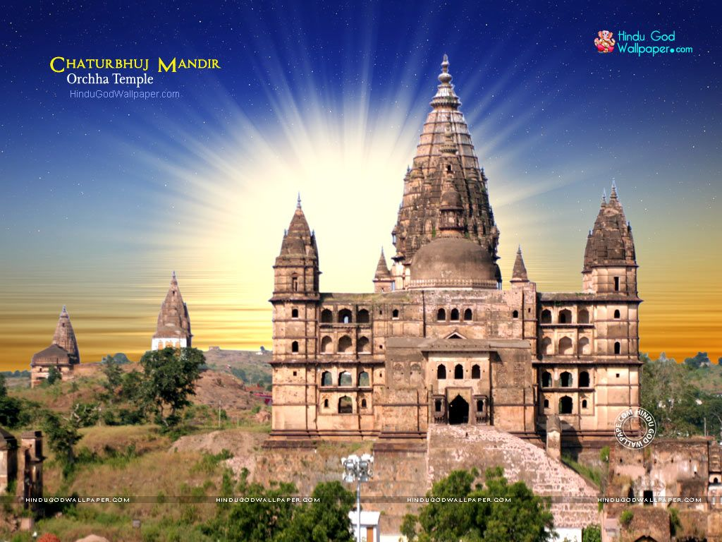 Orchha Temple Wallpaper