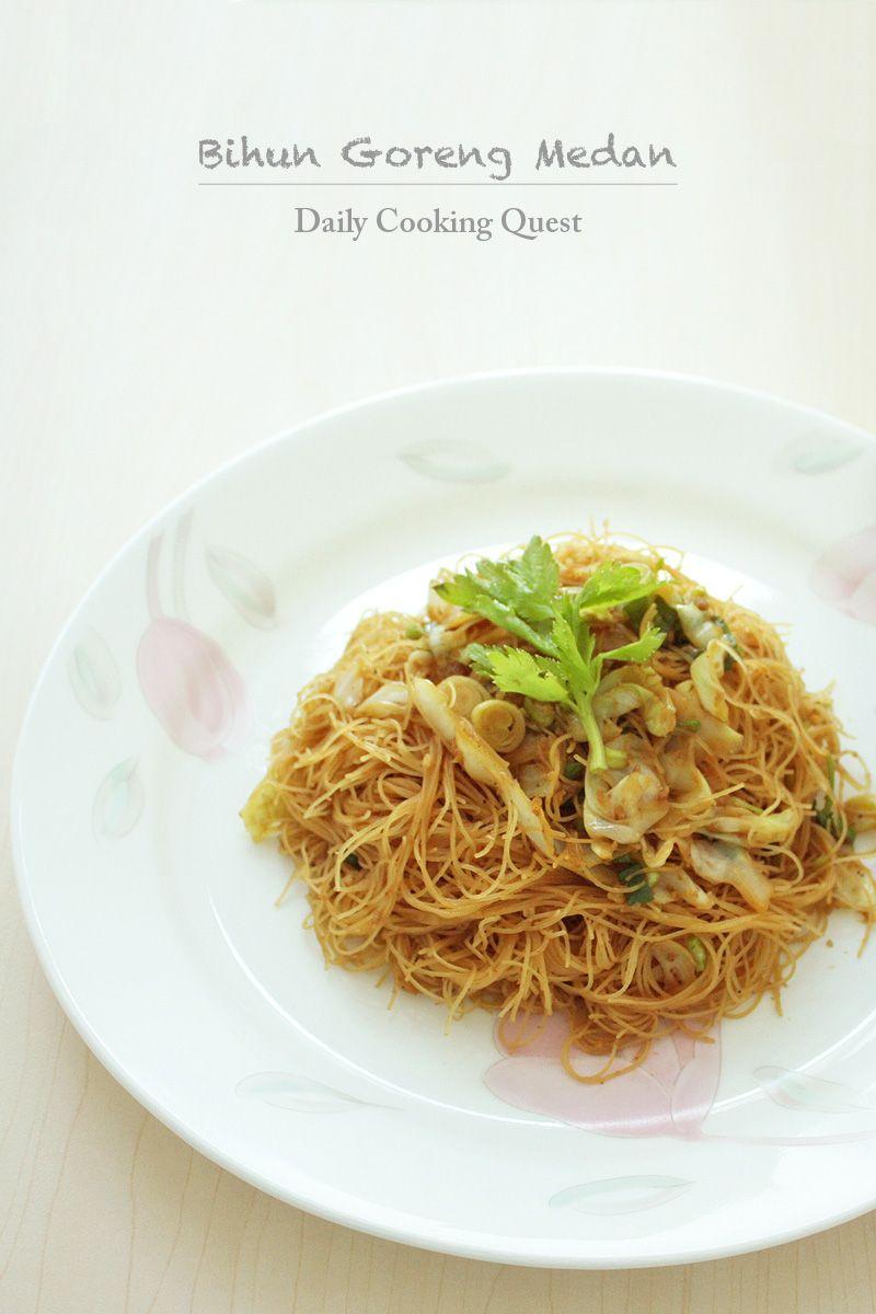 Olahan Bihun Goreng : olahan, bihun, goreng, Bihun, Goreng, Medan, Style, Fried, Vermicelli, Recipe, Chinese, Cuisine, Recipes,, Vermicelli,