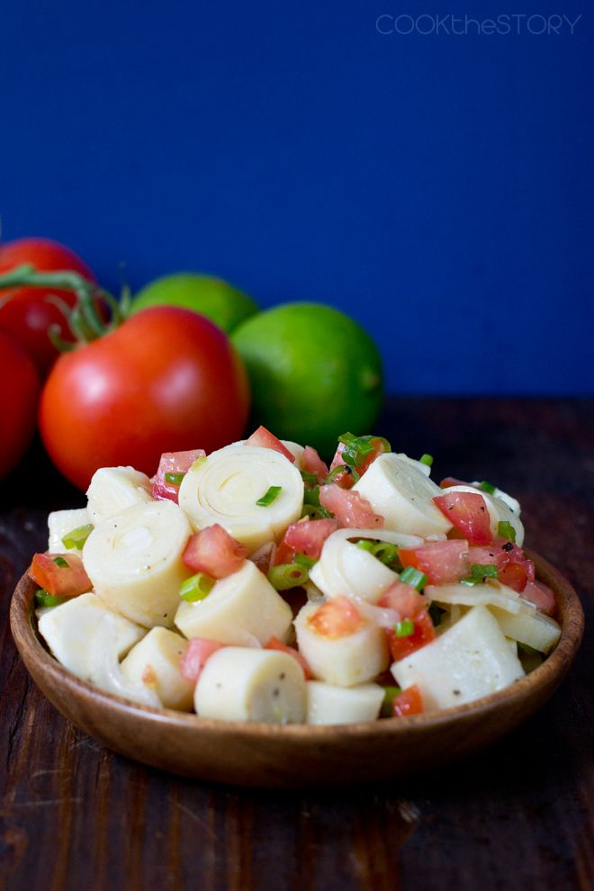Photo of Brazilian Hearts of Palm Salad