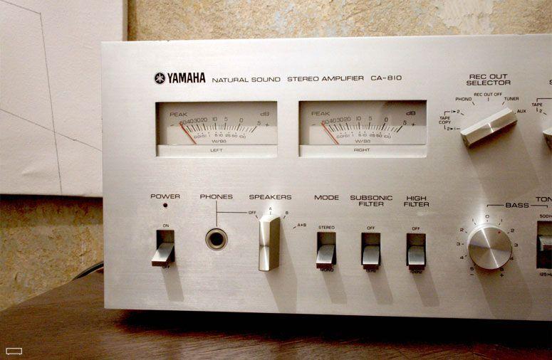 Audioklassiks Hifi Vintage Of The 60 S 70 S Yamaha Ca 810 L Amplifier Hifi Yamaha Audio Amplifier