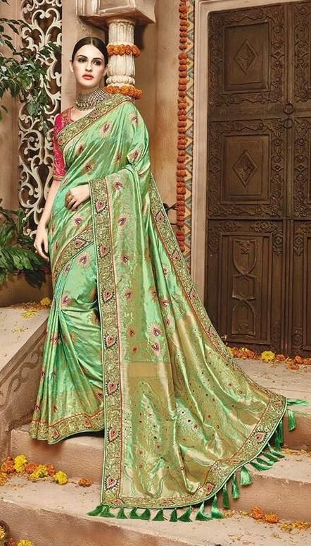 160083014d4ae Buy Bridal And Party Wear Sarees On Cash On Delivery