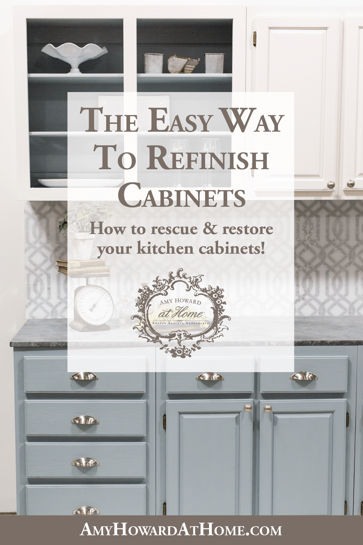 The Easy Way To Refinish Cabinets Refinishing Cabinets Kitchen Cabinets Refinish Kitchen Cabinets