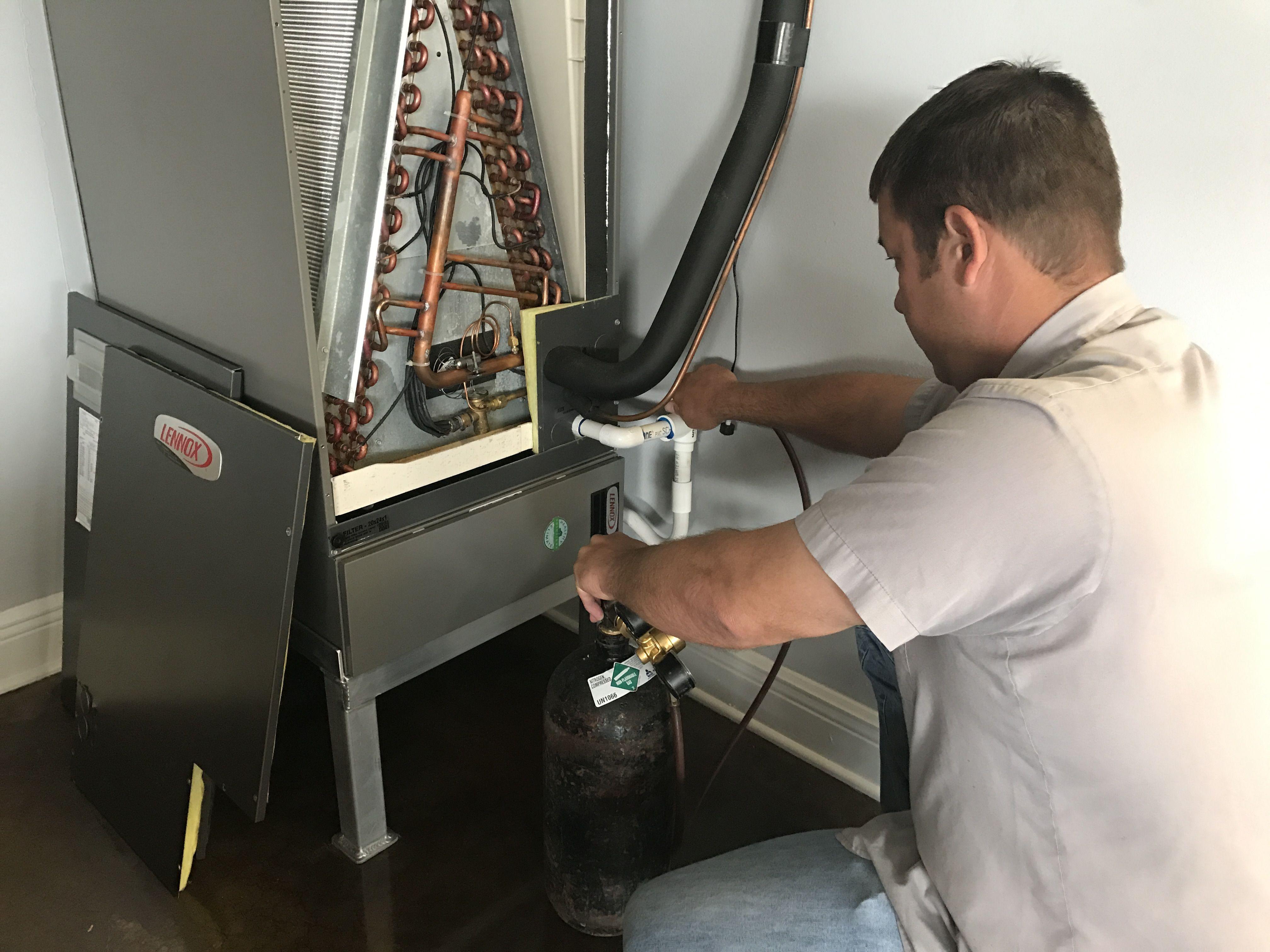 A Preventative Maintenance service checks entire system