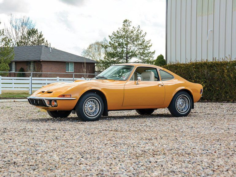 1971 Opel Gt Opel Classic Cars Old Classic Cars