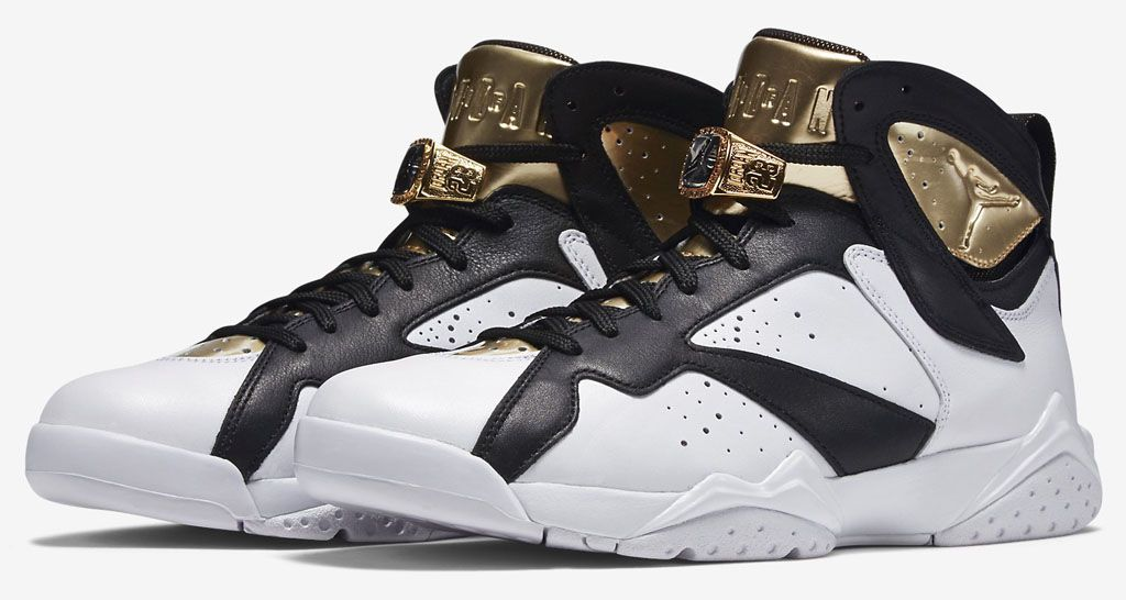 The Air Jordan 7 'C&C' Pack Celebrates Michael Jordan's Second Championship