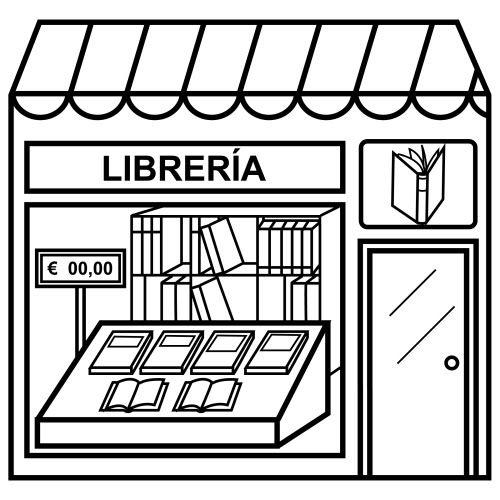 Dibujos De Tiendas Para Colorear Bits De Inteligencia Tienda Dibujo Tiendas