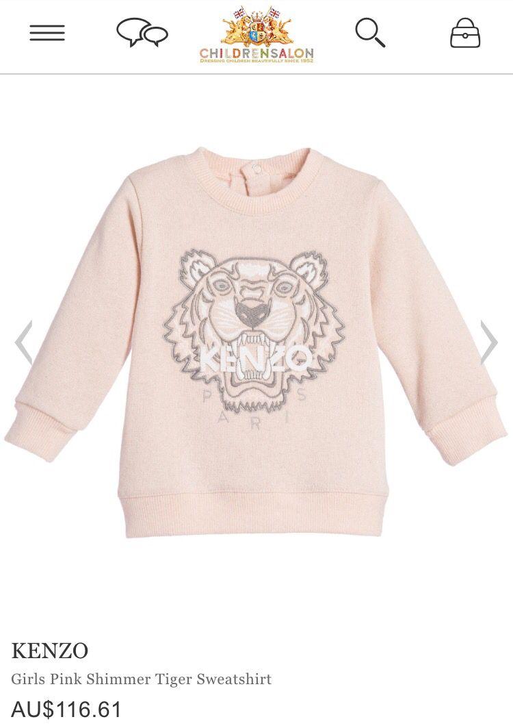 5911e9bf8 Kenzo baby jumper | Baby | Pastel blue, Kenzo kids, Sweatshirts