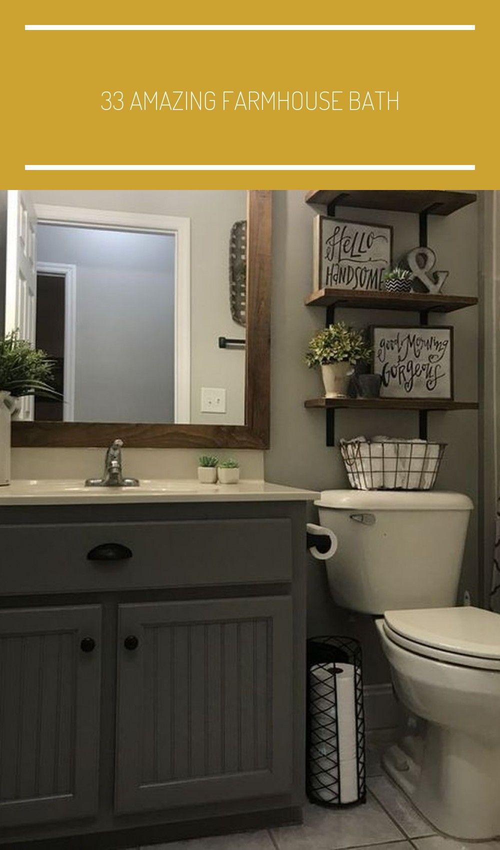 12 Amazing Farmhouse Bathroom Decor That You Should Copy - The