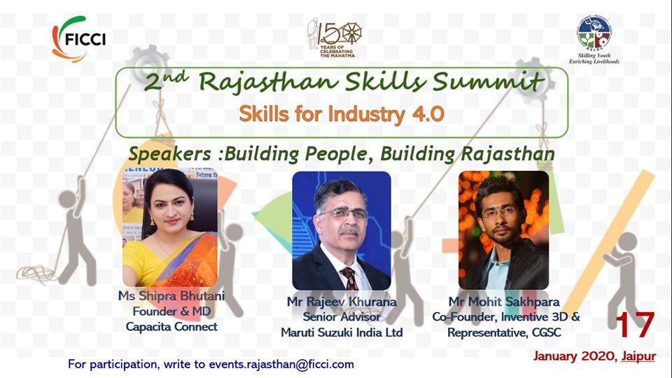 2nd Rajasthan Skill SummitDiscussion Panel in 2020