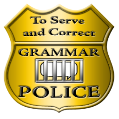 Image result for image Grammar Police public domain