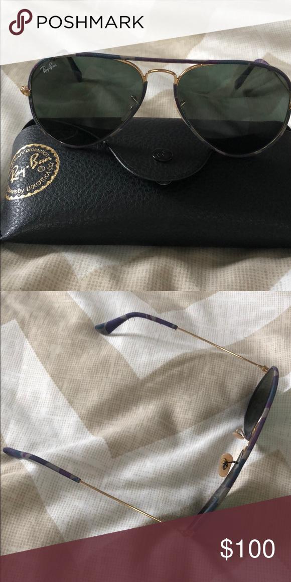 feff561859fb Ray bay sunglasses aviator Ray ban sunglasses purple camouflage Ray-Ban  Accessories Sunglasses