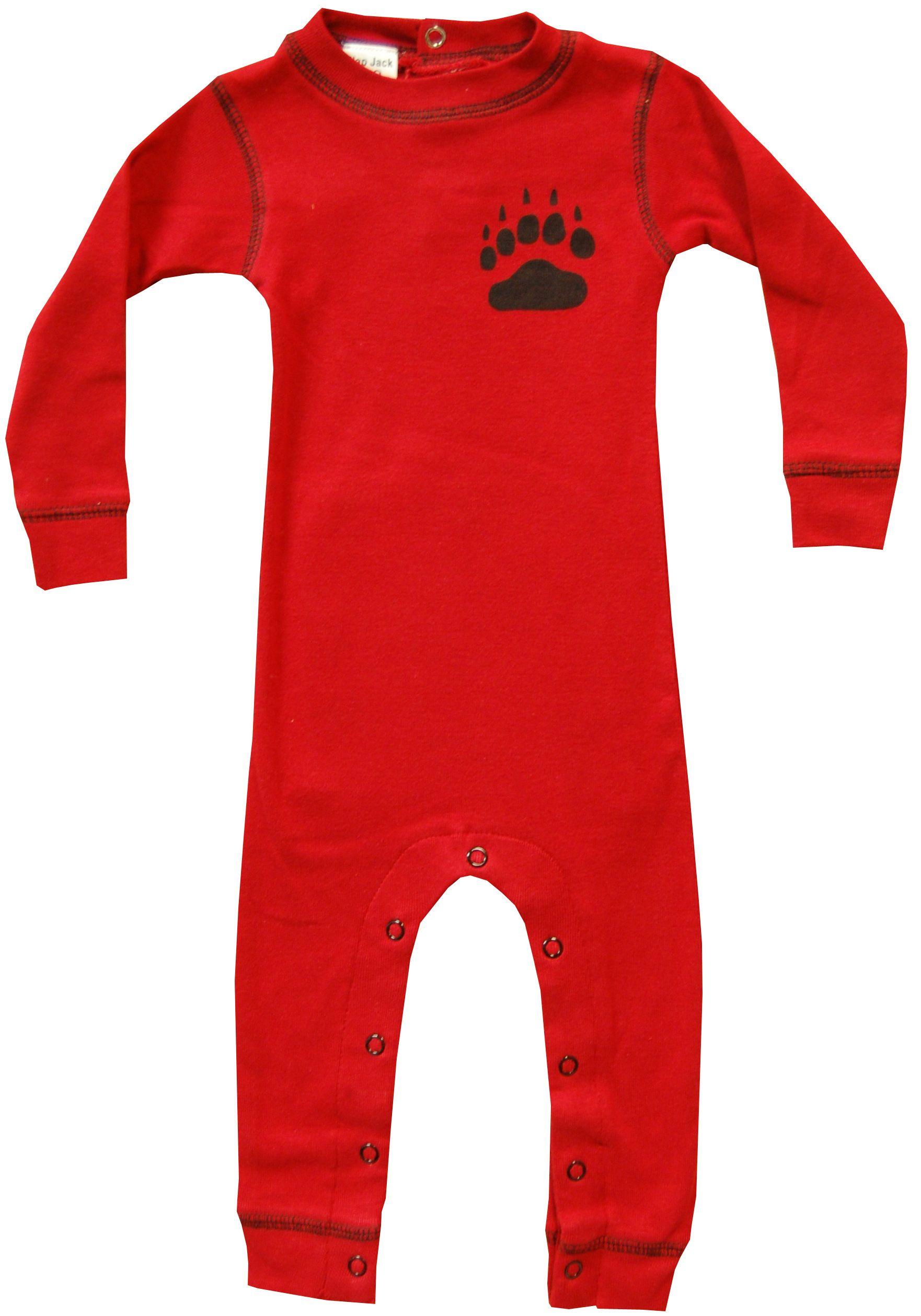 LazyOne Bear Bottom FlapJacks Infant Long John #SleepyHeads www.sleepyheads.com