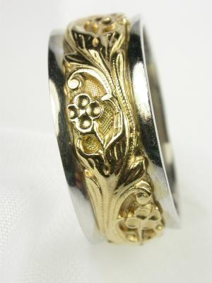 Art Carved Vintage Wedding Ring Rg 853 Vintage Wedding Rings