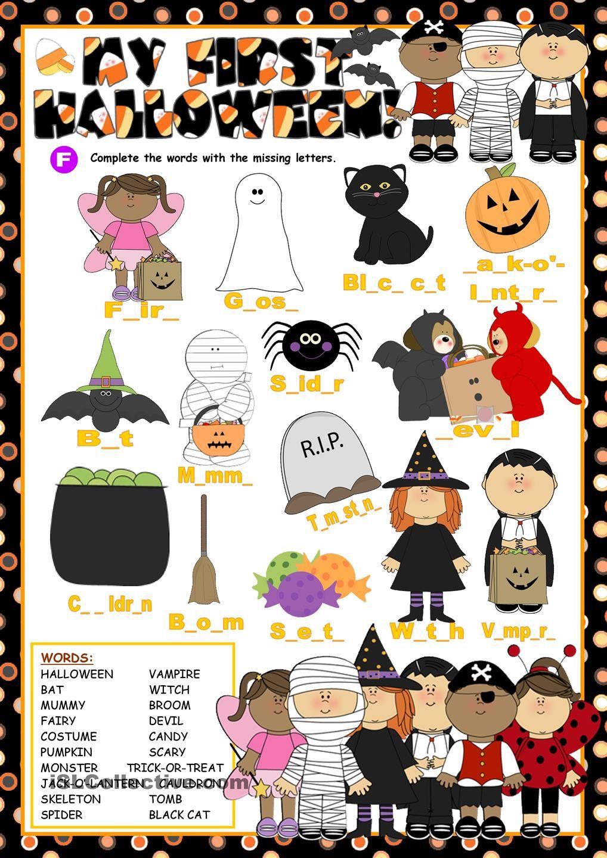 My First Halloween (VI) | Enkku | Pinterest | Deutsch lernen, Lernen ...