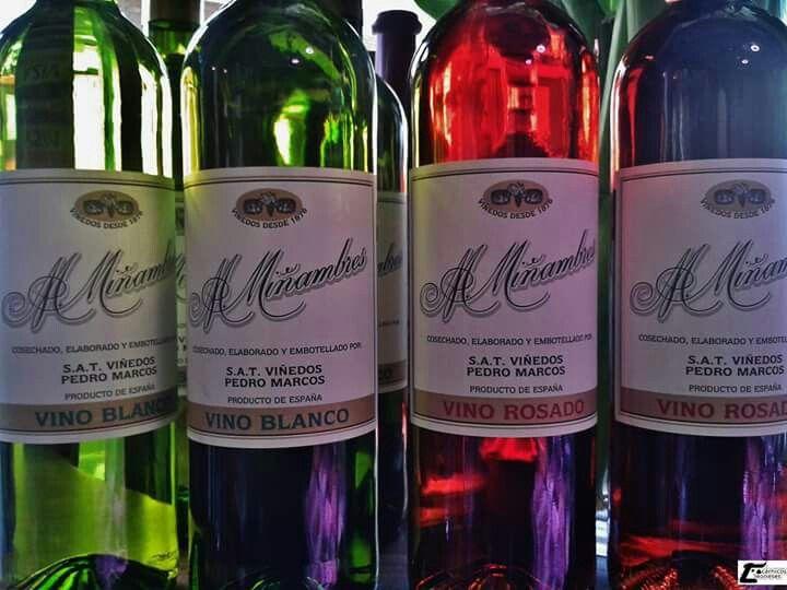 #vinosMiñambres en #camponorte Olor Color Sabor