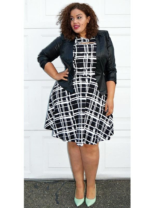 inside allie's world: making bold prints work for you! | plus size