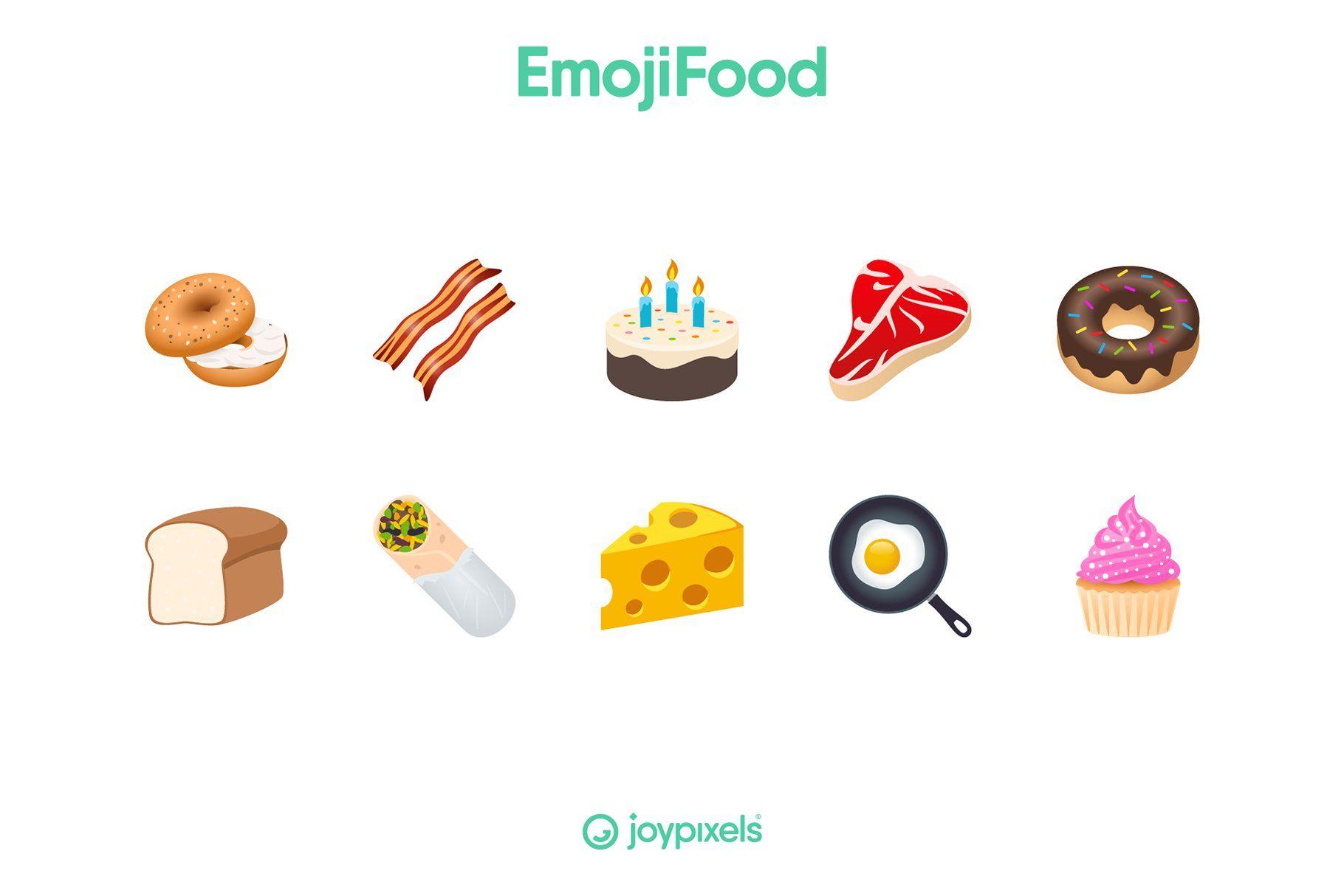 Emoji Food Icons By Joypixels Emoji Food Food Icons Emoji