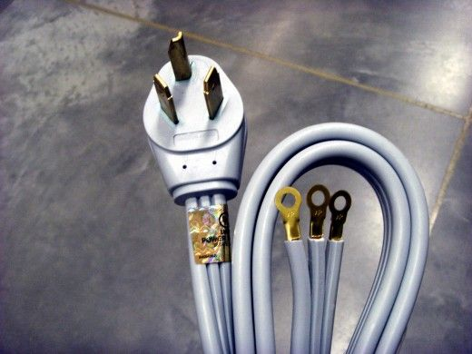 How To Change A 4 Prong Dryer Cord And Plug To A 3 Prong Cord Washer And Dryer Dryer Plug Dryer Outlet