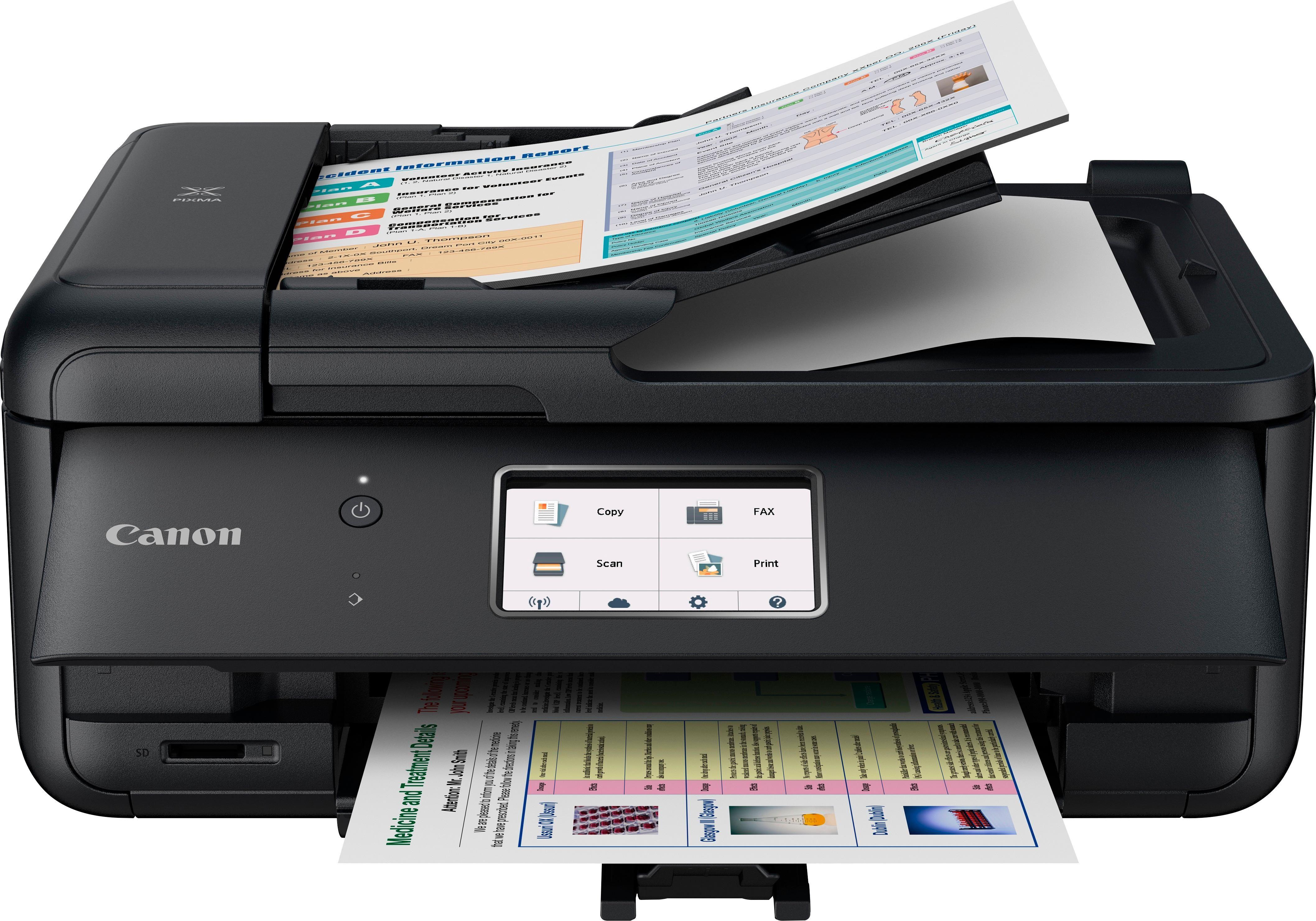 Canon Pixma Tr8520 Wireless All In One Inkjet Printer Black
