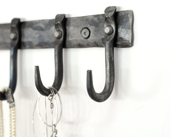 Small hooks for necklaces or keys, modern, urban bridesmaid gift, bridal  party