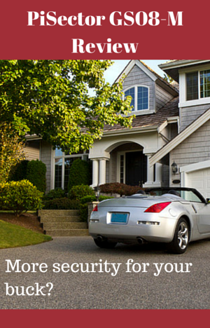 PiSector Wireless Home Security Alarm