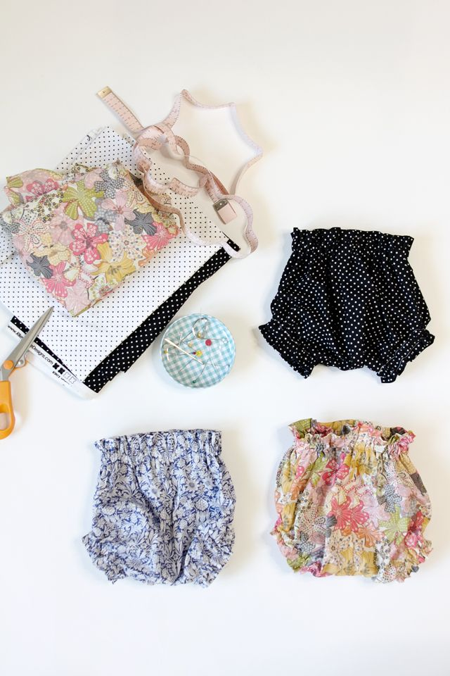 PAPER BAG WAIST BABY BLOOMERS   Sewing Crafts   Pinterest   Baby ...