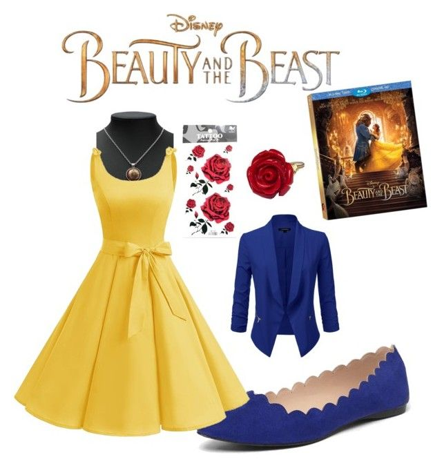 """""""A Beautiful Beast"""" by denovia on Polyvore featuring Disney, Dorothy Perkins, BeautyandtheBeast and contestentry"""