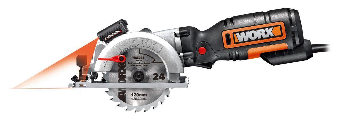 Worx Handkreissäge WX427 Nennaufnahmeleistung 710 Watt