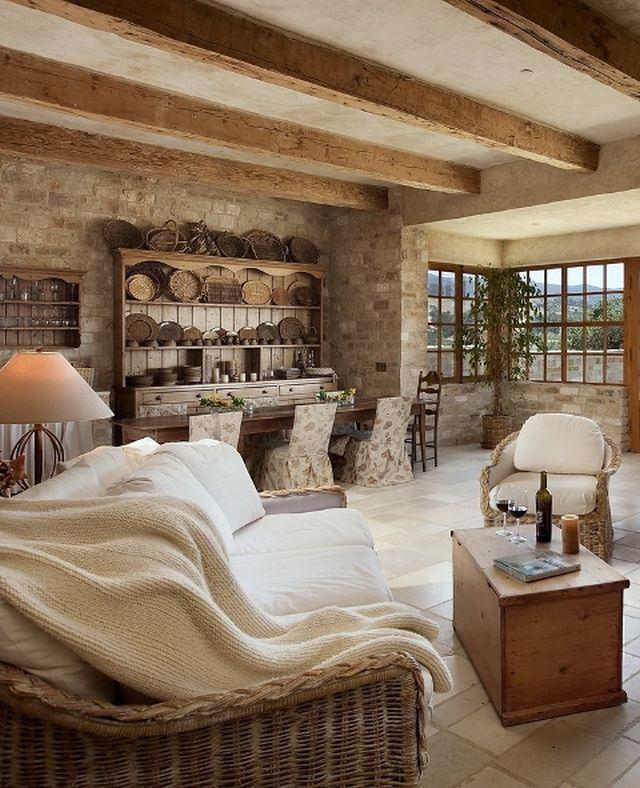 Vínny dom s nádychom francúzskeho vidieka | Vidiecky štýl