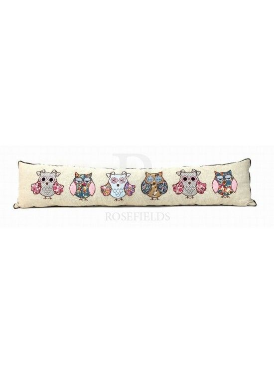 Cute Owl Draught Excluder @ rosefields.co.uk