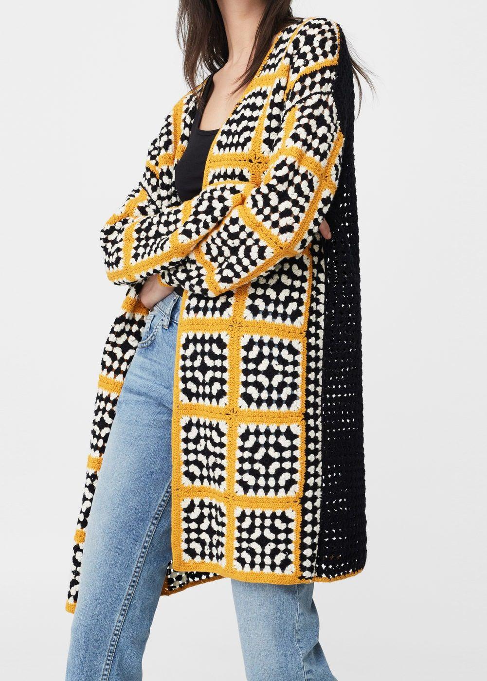Crochet Abrigos Chalecos Blusas Tops Y Chaquetas Panosundaki Pin