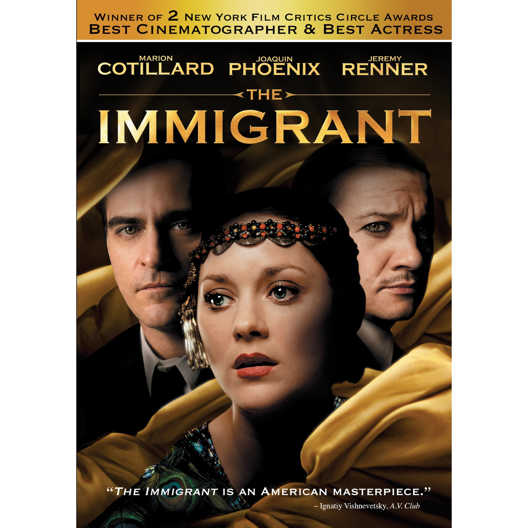 The Immigrant (With images) Blu ray movies, Blu, Movie tv
