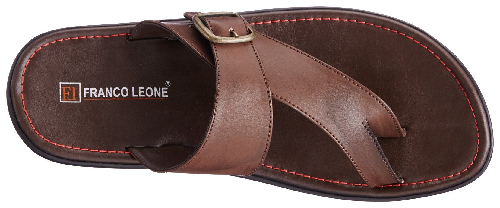 ac93f0deca20 Franco Leone Men s Flip Flops Thong Sandals  Buy Online at Low Prices in  India - Amazon.in