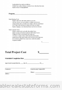 Free subcontractor agreement printable real estate forms for Find subcontractors