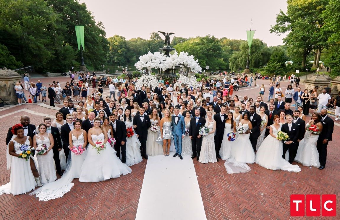 First Look 52 Couples Say 'I Do' in TLC's Say Yes to the
