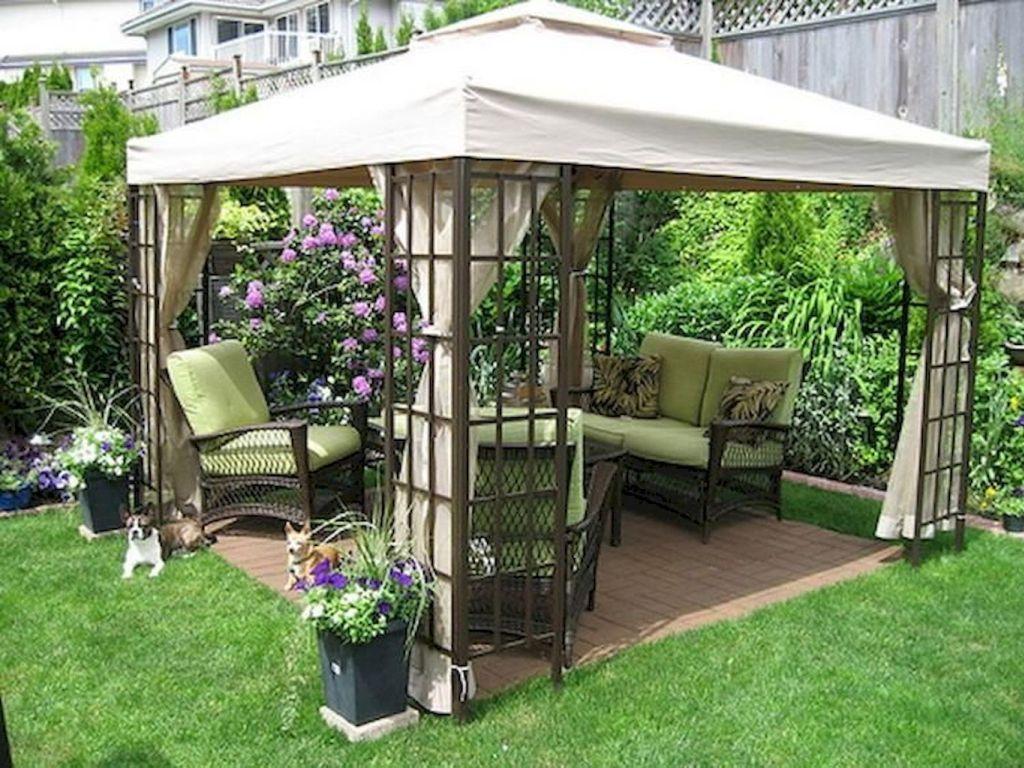 52 Small Backyard Garden Landscaping Ideas Backyard Gazebo Inexpensive Backyard Ideas Inexpensive Landscaping