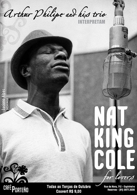Sign Up Music Poster Nat King Cole Jazz Blues