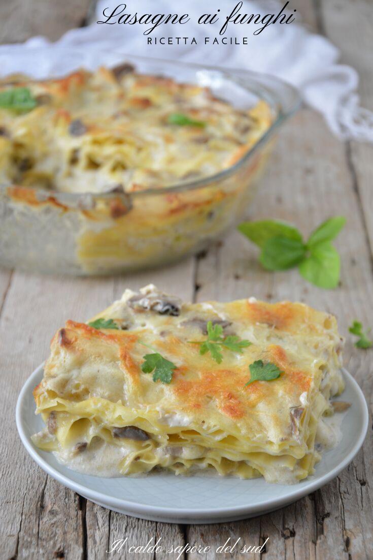Photo of Mushroom Lasagna easy recipe – Blog of The hot flavor of ……