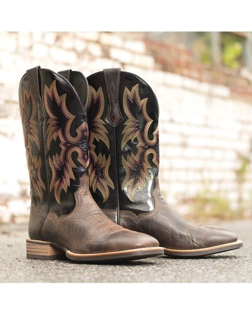 Ariat Men's Tombstone Boot - Thunder Brown/Black