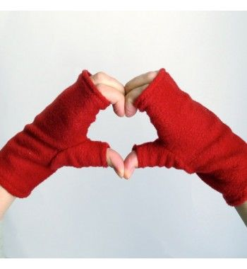 Convertible Mittens Sewing Pattern - Fingerless Fleece Gloves or ...