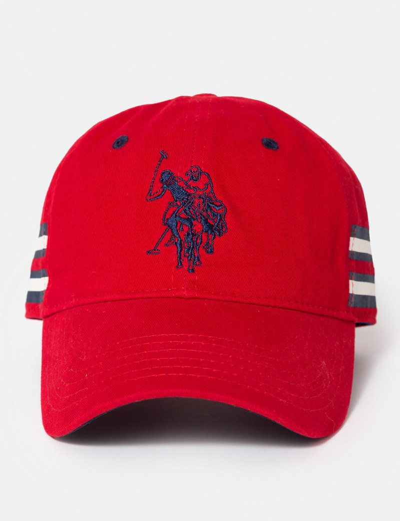 ad610fee92627 SIDE STRIPE BASEBALL CAP - U.S. Polo Assn.