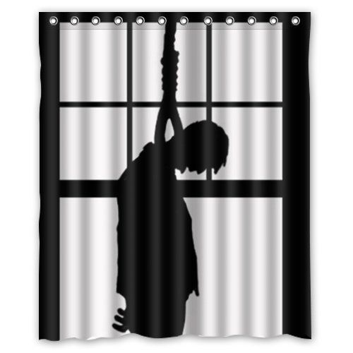 Zombie Horror Hanging Shower Curtain Curtains Horror House